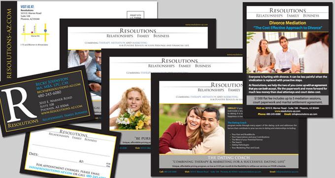 Resolutions Print and Logo Design