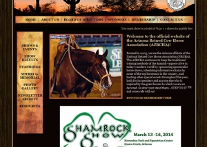 Arizona Reined Cowhorse Association - Home Page