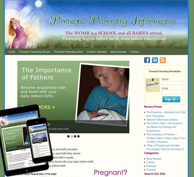 Prenatal Parenting Information - Home Page
