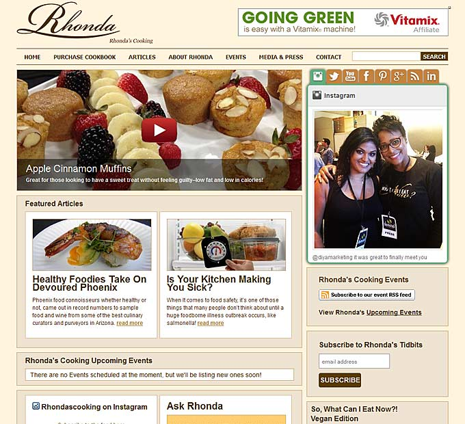 Rhonda's Cooking Home Page
