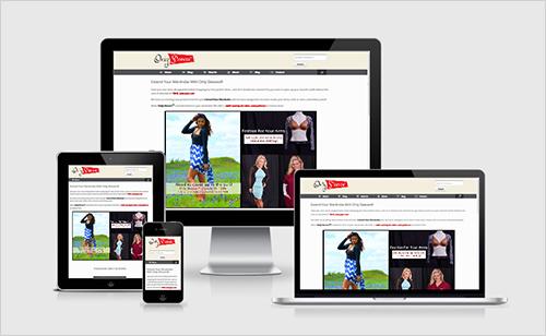 Responsive web site Showcase